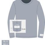 Logo Positionierungen Sweatshirt
